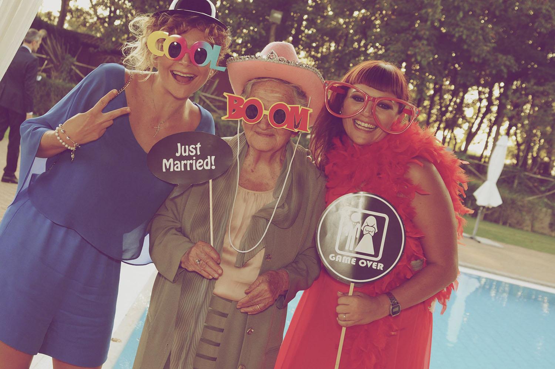 foto photo booth roma matrimonio