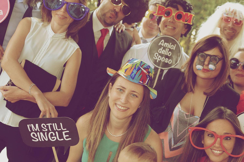 foto photo booth roma matrimonio Daniela e Stefano