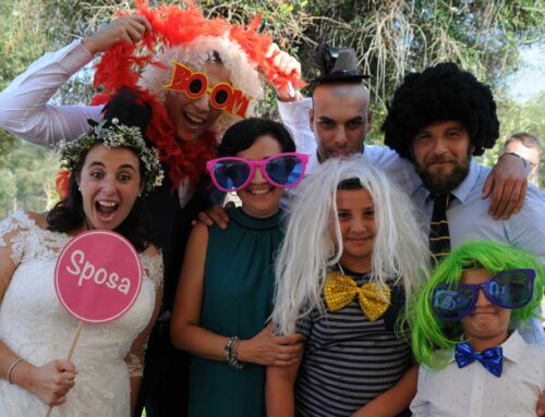 Photo Booth Roma: il Matrimonio di Francesca e Sebastiano