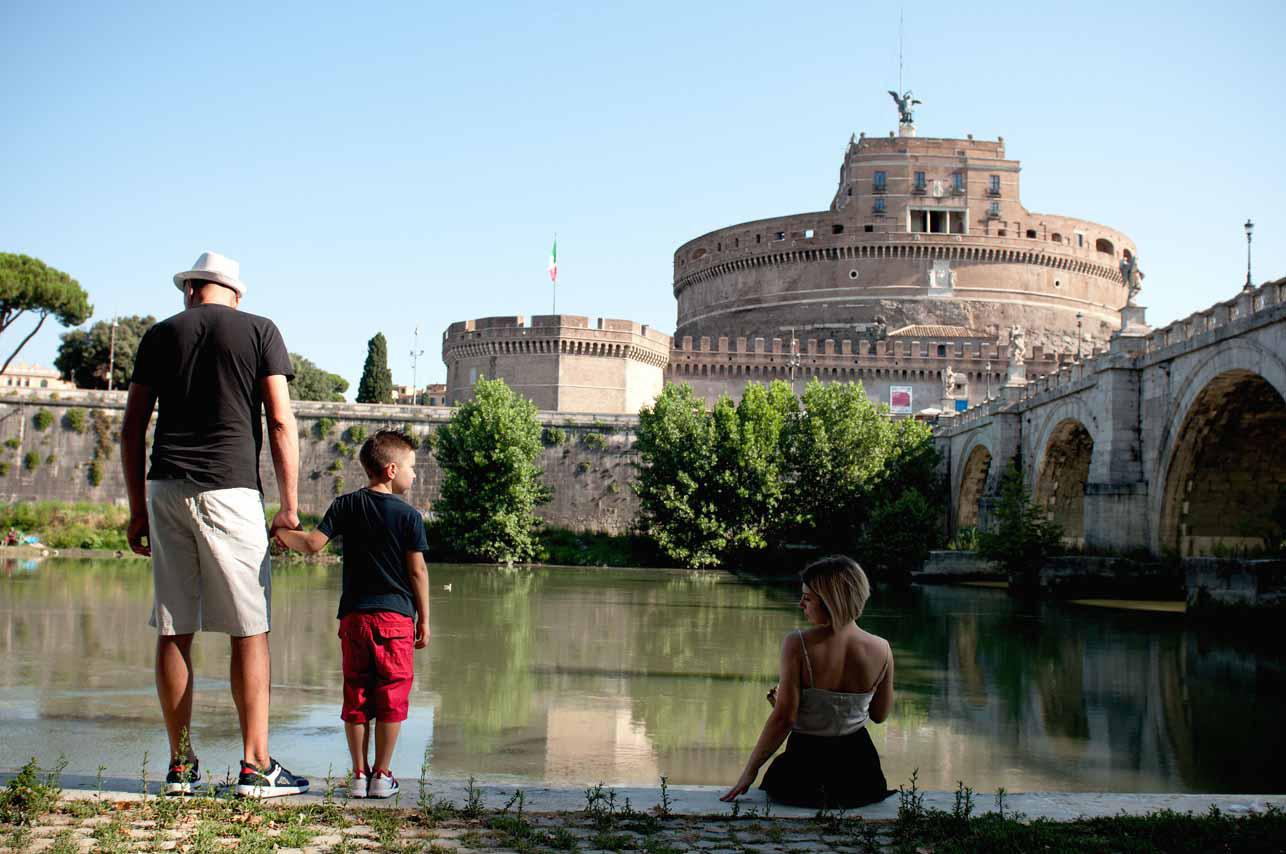 09 - Shooting Castel Sant Angelo - Fabrizio Musolino Fotografo