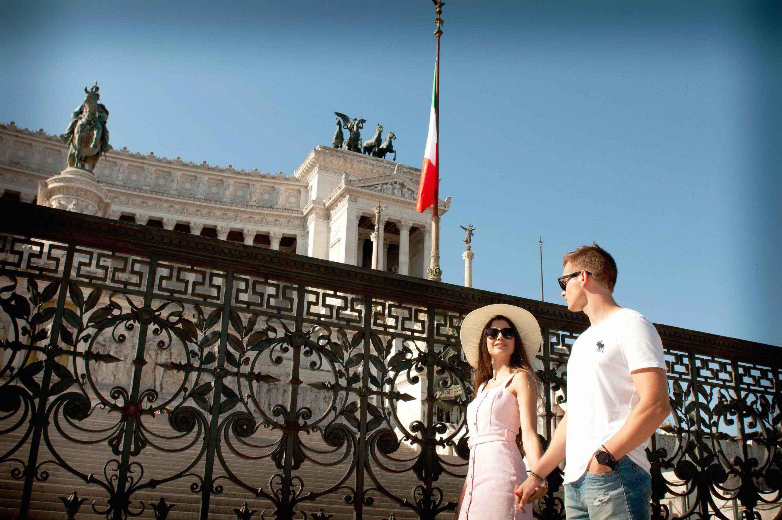 10 - Shooting Fotografico a Roma di Federica e Matteo - Fabrizio Musolino Fotografo