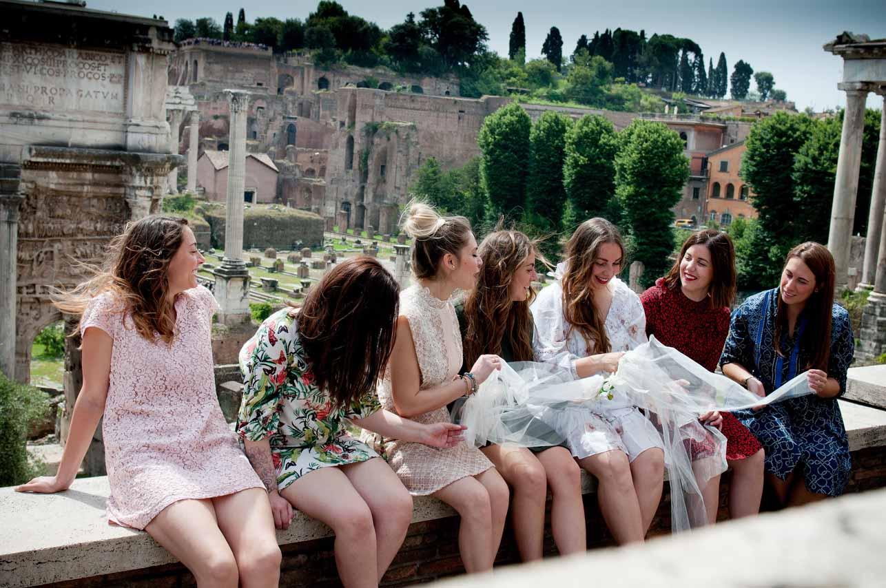 11 - Fotografo Addii al nubilato e celibato a Roma - Fabrizio Musolino Fotografo