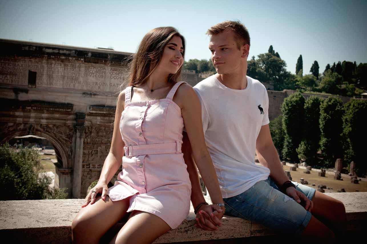 28 - Shooting Fotografico a Roma di Federica e Matteo - Fabrizio Musolino Fotografo