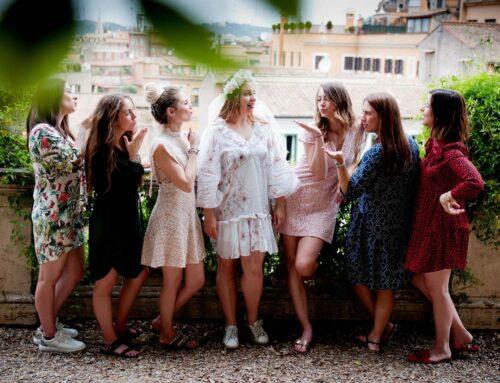 Addio al nubilato e al celibato al centro di Roma