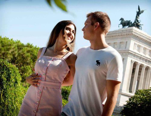 Shooting Fotografico al centro di Roma – Federica e Matteo
